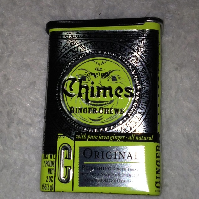 Mmmm... Good- Chimes Ginger Chews I have to find these!!