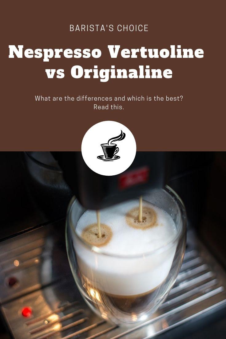 Nespresso Vertuoline Vs Original Coffee Preparation Vertuoline