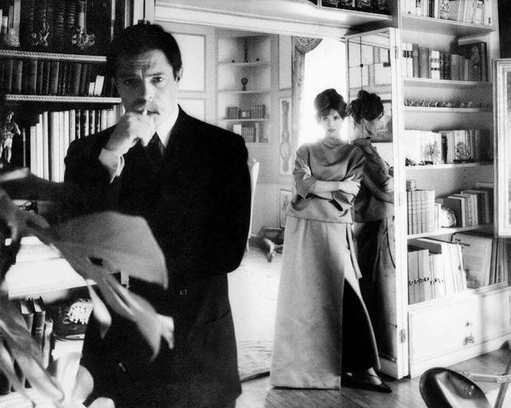 MM con Elsa Martinelli - fuori dal set 'La Decima Vittima' (Cinecittà,1965)