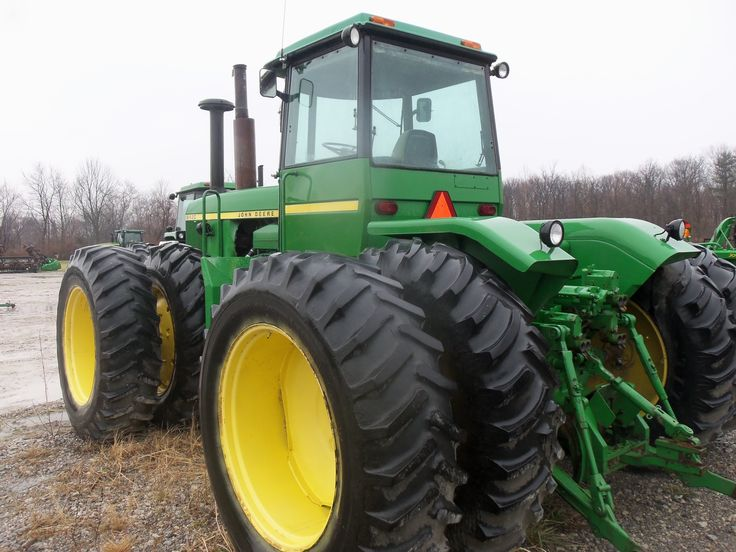 John Deere 8430 from 40 years ago.