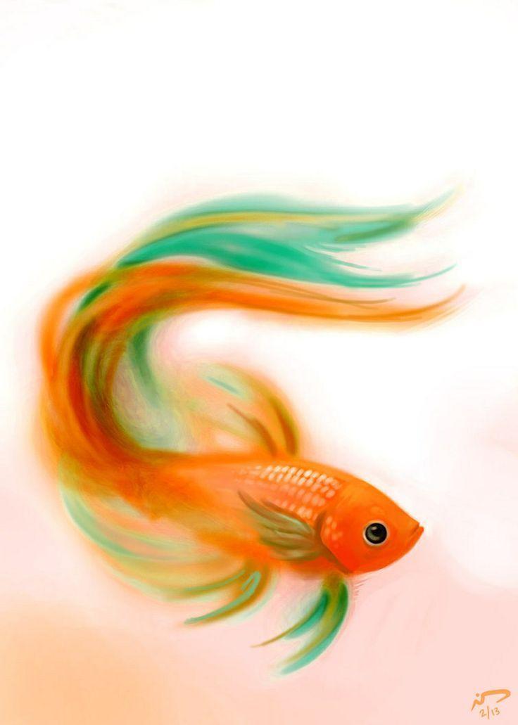 Pin Von Willibald Koller Auf Fische Fisch Malen Aquarell Fisch