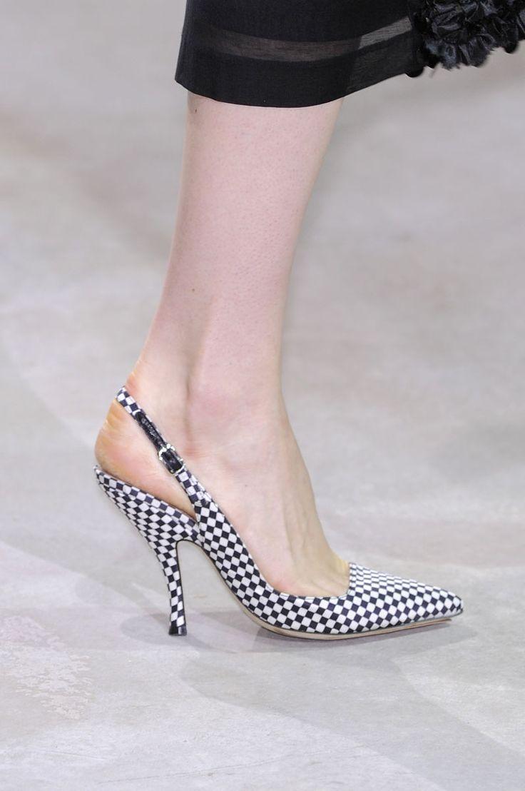 Tendencia Primavera 2013 zapatos tacon bajo - Dries Van Noten