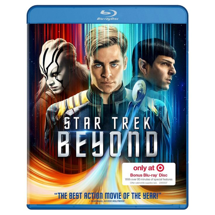 Star Trek Beyond – Target Exclusive Bonus Content (Blu-ray + Dvd + Digital)