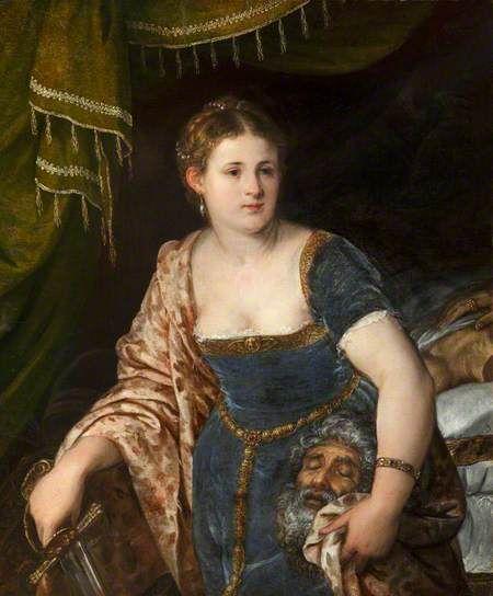Judith with the Head of Holofernes Lambert Sustris (Dutch) 1515-1584, Venetian School after 1560