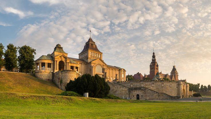 Szczecin, Wały Chrobrego