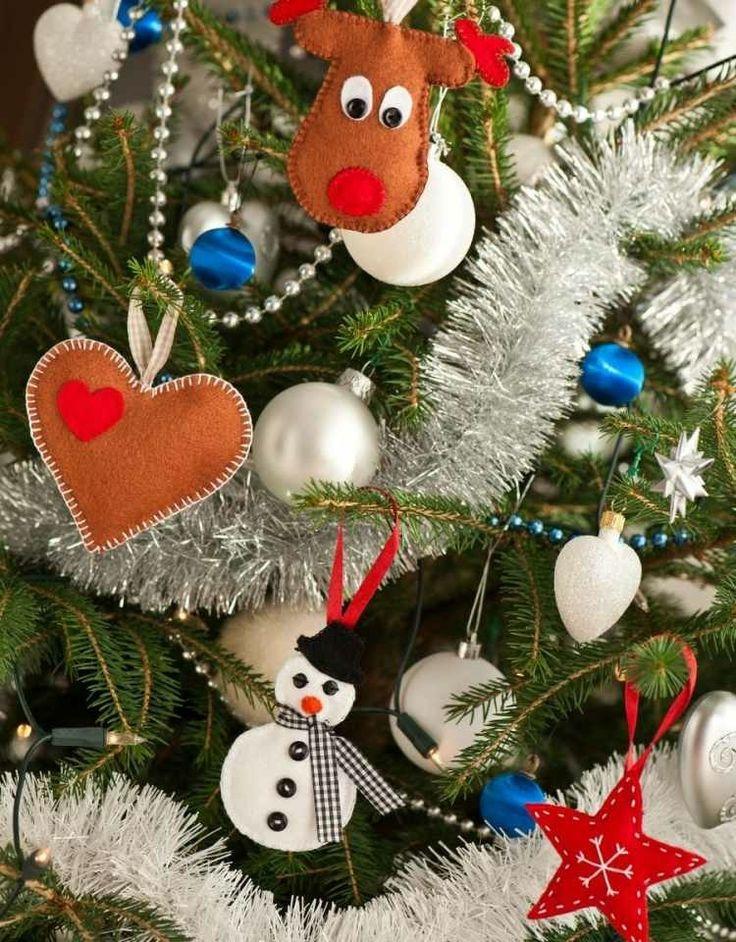 Adornos navide os caseros para realizar en familia - Adornos navidad exterior ...