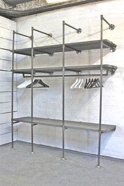 Shelving - industrial - Bookcases - Manchester UK - Inspiritdeco
