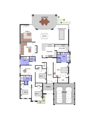 209 best decor: house plans images on pinterest | house floor