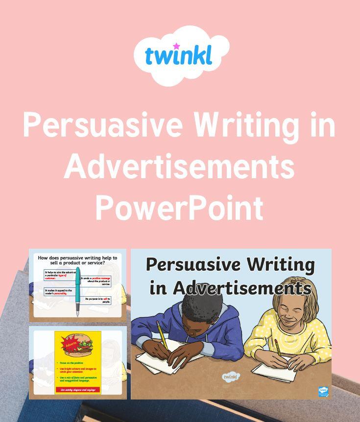 persuasive advertisements examples