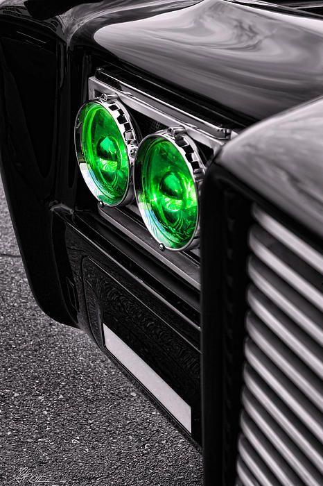 The Green Hornet - Black Beauty Close Up - By Gordon Dean II