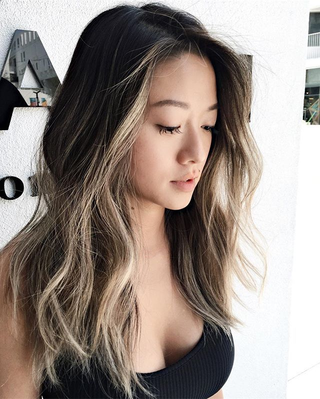Hairstyles For Asian Hair Cool Dark To Light Perfection …  Hair  Pinterest  Dark Lights And
