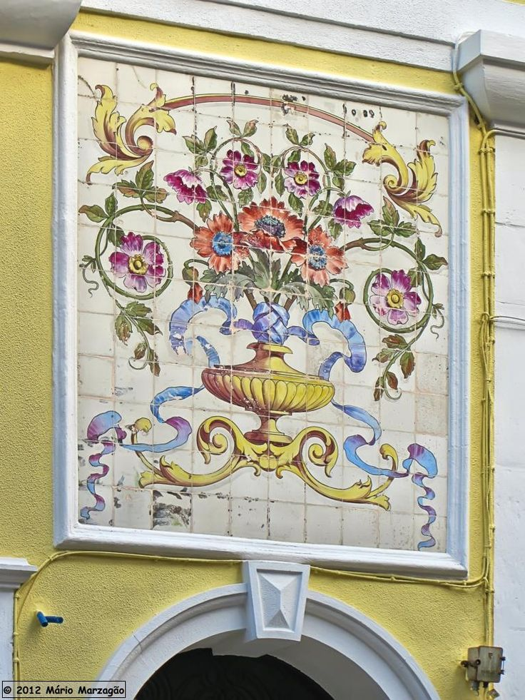 17 melhores imagens sobre azulejos e mosaicos portugueses for Azulejos sobre azulejos