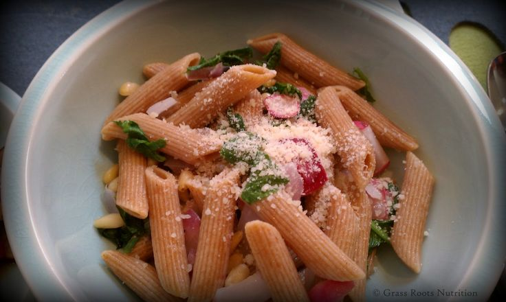 Dinner in a flash: Radish pasta