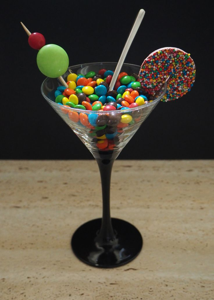 Week 6 - Candy, a chocoholic's cocktail.