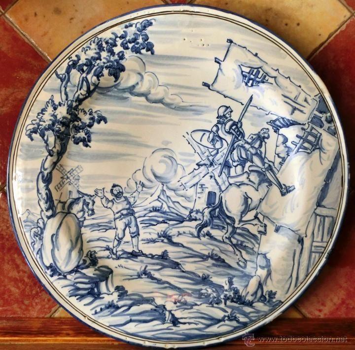 bonito plato de cerámica. talavera - toledo. fi - Comprar Cerámica y Porcelana de Talavera en todocoleccion - 46097969