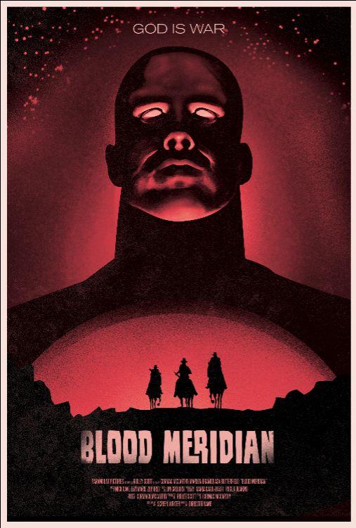 Blood Meridian: Movie Poster by mikefenn