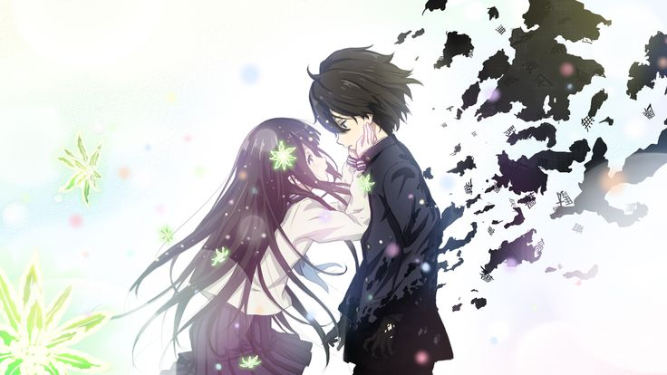 anime guys word | The Closest Anime Has Ever Gotten to a Proper Mystery Series: A Hyouka ...