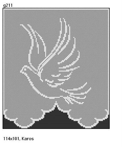 Kira scheme crochet: Scheme crochet no. 2508