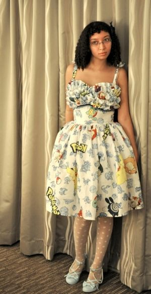 Pokemon dress. I have these sheets!