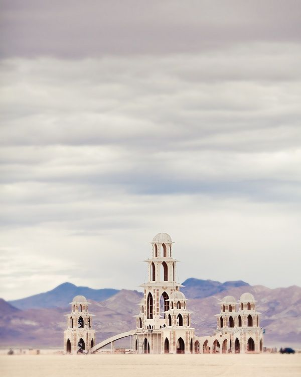 Burning Man Festival. Black Rock Desert, Nevada.