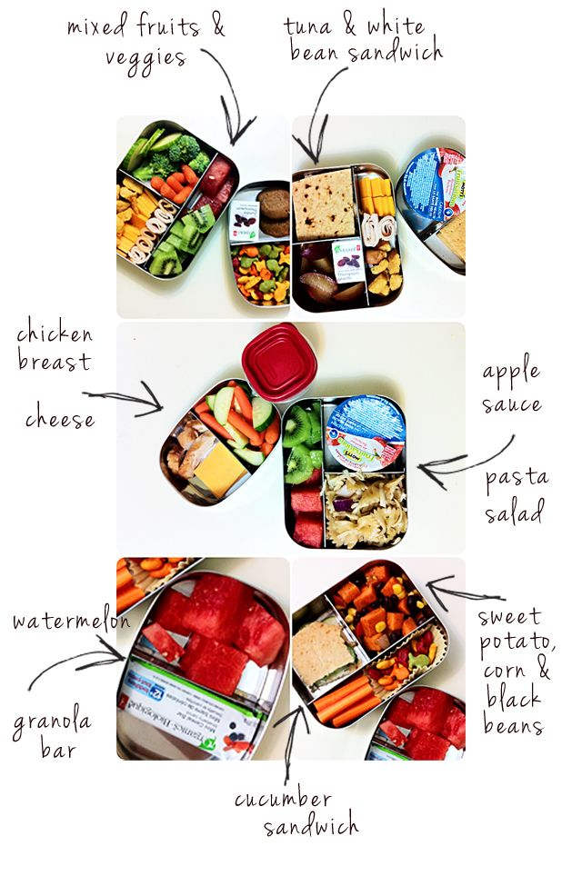 Harvesting Kale: Toddler Lunches: Week 5  good blog for montessori activities,advice too