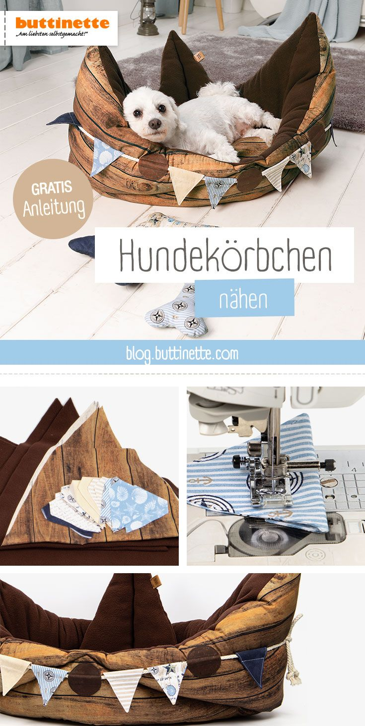 Free instructions: sewing dog baskets  – Nähen