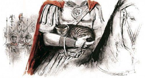 Με καταγωγή πάντα από την Αίγυπτο, η γάτα βρέθηκε στην Ευρώπη μέσω Ρωμαϊκής Αυτοκρατορίας, εξημερώθηκε και έγινε οικόσιτη