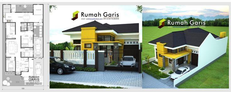 Panduan tips Perencanaan rumah tinggal 1 lantai tipe 120 lengkap dengan RAB