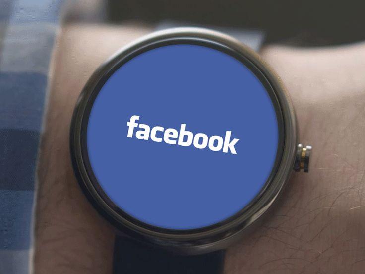 Dribble-facebook-adnroid-wear-concept