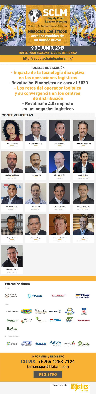 Faltan 3 días para el Supply Chain Leaders Meeting | #CDMX | ¡Regístrate!  http://www.inbound-news.com/newsletter/2017/sclm_junio1.html
