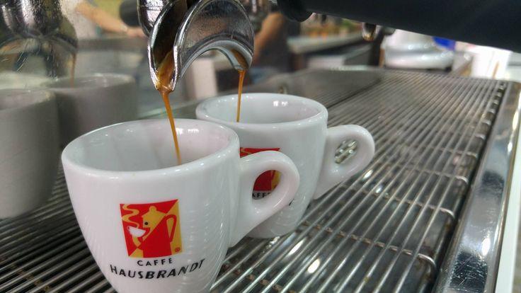 Espresso Hausbrandt...