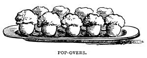 Pancakes Waffles and Popovers ~ Free Vintage Food Clip Art