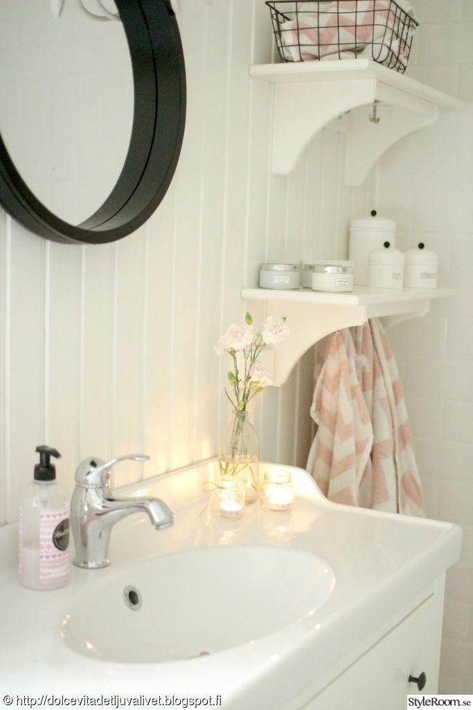 Bildresultat för små badrum inspiration lantligt