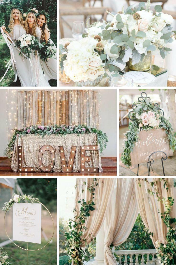 Semleges szürkék, barnák | Esküvői színek 2017 - 15 trendi színkombinációt mutatunk a tökéletes esküvői dekorációhoz. Inspirálódj velünk!