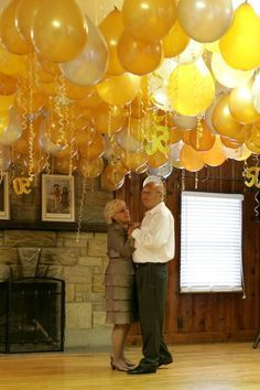 50th wedding anniversary decor | Party Ideas