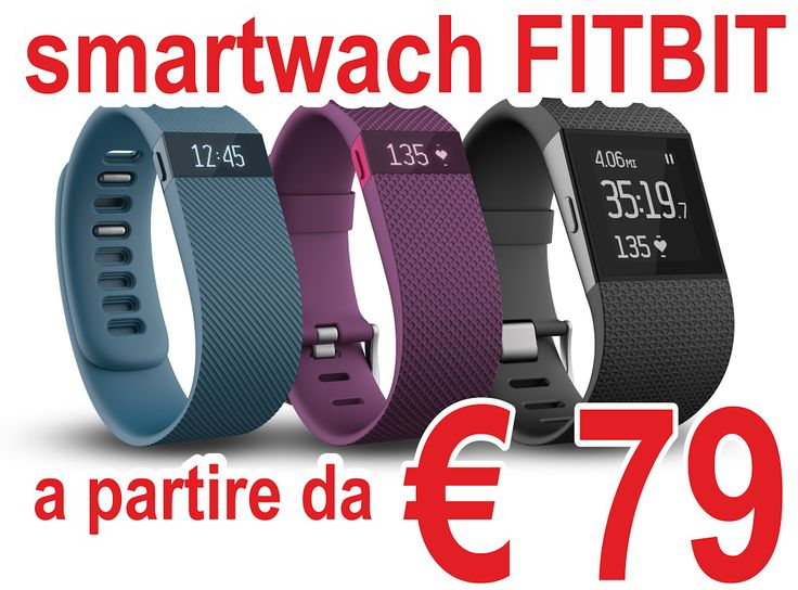 Smart Watch Fitbit a partire da €79 Fai contare ogni battito con carica HR un polsino di monitoraggio avanzato che dà automatica, la frequenza cardiaca e l'attività di monitoraggio continuo a destra sul vostro polso per tutto il giorno, durante gli allenamenti e non solo.     Vedere la frequenza cardiaca 24/7 per ottenere più accurata bruciare calorie tutto il giorno.  Punto Vendita Sos-Tech Via Plebiscito 8 Reggio Calabria tel 0965.490398
