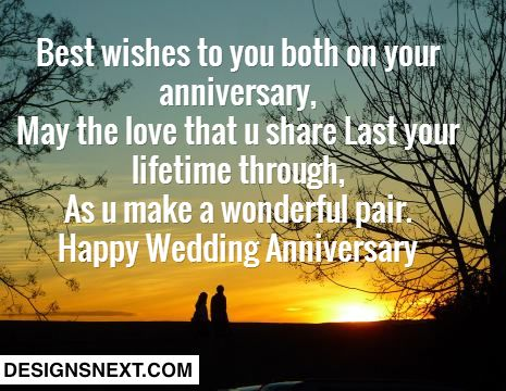 Awesome Happy Wedding Anniversary Wishes For Friends http://www.designsnext.com/?p=28196