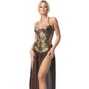 Sexy Halloween Costumes Slave Princess Leia Costume