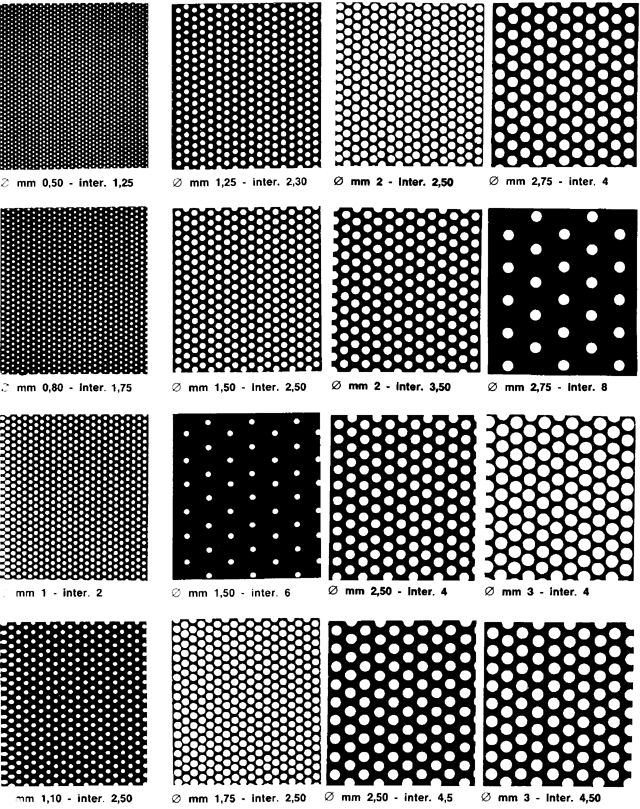 sds international product-perforated plate