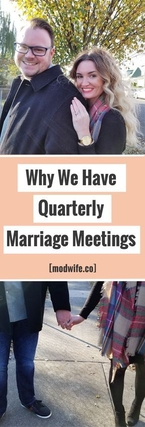 We have quarterly marriage meetings - here's why! | Modwife.co - marriage + lifestyle blog | marriage advice, wife advice, happy marriage tips