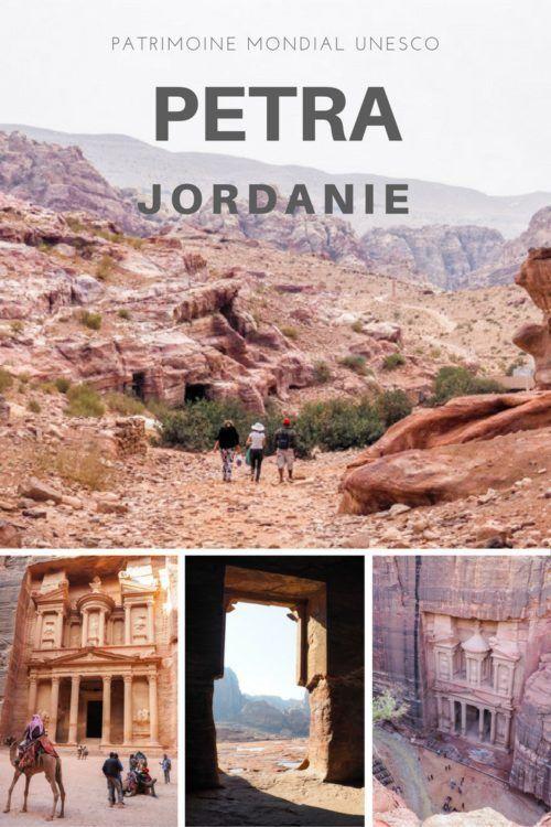 Randonnée sur le site de Petra en Jordanie. Site mythique lors d'un voyage en Jordanie. Vous ne pouvez passer à côté du lieu de tournage de Indiana Jones!