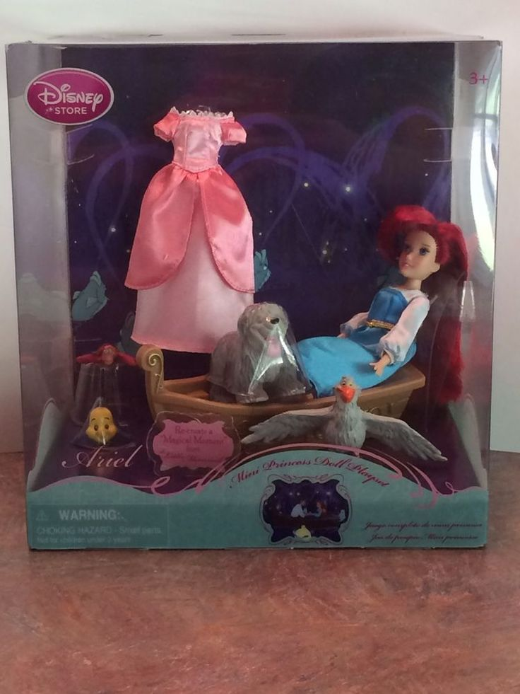 The Little Mermaid Ariel & Friends Mini Princess Doll Pmayset. Doll and accessories have NEVER BEEN REMOVED FROM BOX AND ARE NEW! The box is also in IMMACULATE CONDITION! The Little Mermaid. For sale is a SUPER RARE. | eBay!