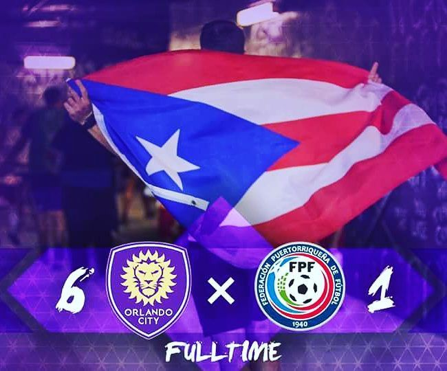 Orlando City SC has beaten the Puerto Rican national soccer team 6-1. This was a friendly and a charity match because of the devastating hurricane in Puerto Rico a while ago.