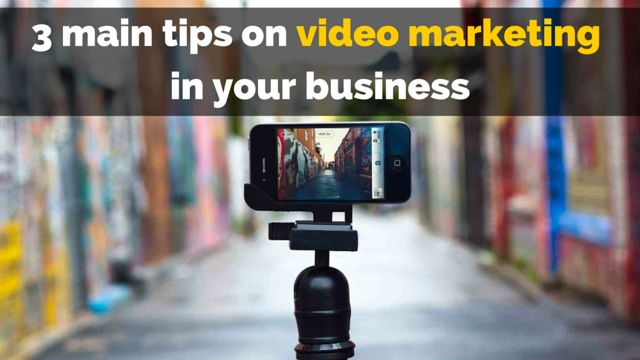 WHY & HOW use #videomarketing in online business: http://brandonline.michaelkidzinski.ws/3-main-tips-on-video-marketing-in-your-business/