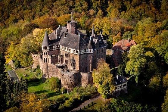 Castle Berlepsch Hessen Germany Beautiful Places Pinterest - Hessen germany