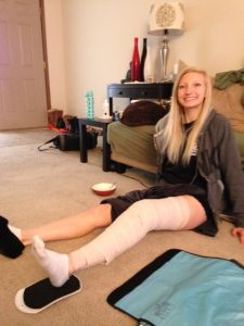 ACL Post-Surgery: Days 2-3 - Blog about what to expect