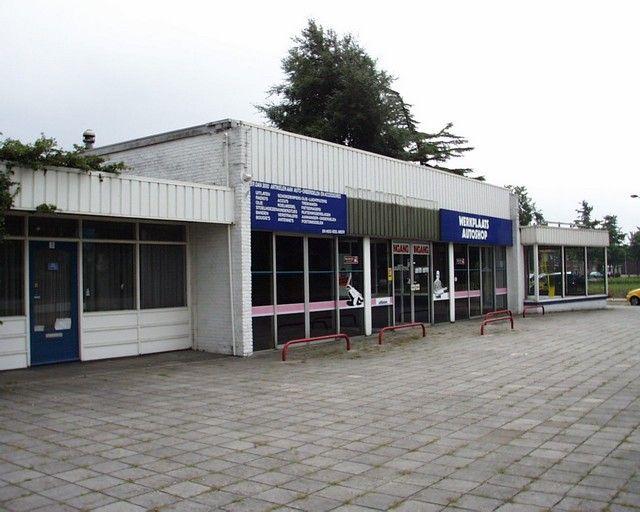 Garage aan de Aalderinksingel te Almelo