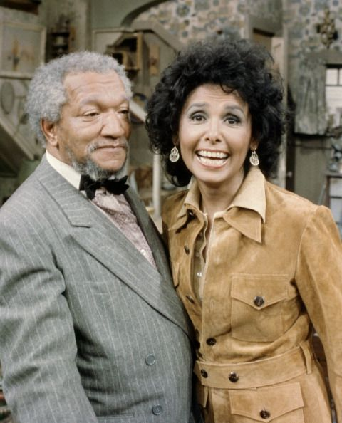 Visit from Lena Horne' Episode 2 Pictured Lena Horne as Herself Redd Foxx as Fred G Sanford Photo by NBC/NBCU Photo Bank