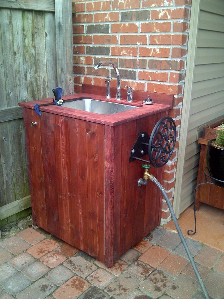 Another Outdoor Sink Design
