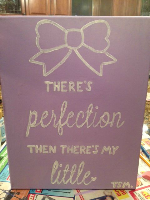 There's perfection. Then there's my little. #Greek #Sorority #Little #Big #BigLil #Crafts #Crafting